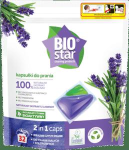 BIOstar cleaning products kapsułki do prania 2 in 1 caps