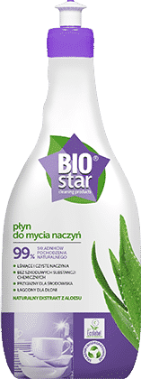 BIOstar cleaning products płyn do mycia naczyń
