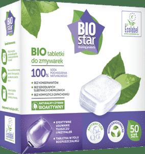 BIOstar cleaning products tabletki do zmywarek