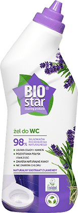 BIOstar cleaning products żel do WC